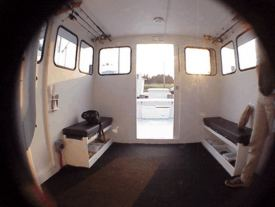 Charterboat wheelhouse